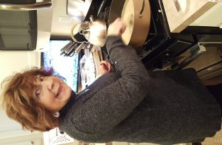 Mama Cooking! Her favorite past time!