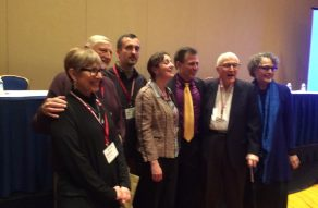 Ed at a session in his honor at the annual meeting of the Amer Anth Assoc (Wash., DC)